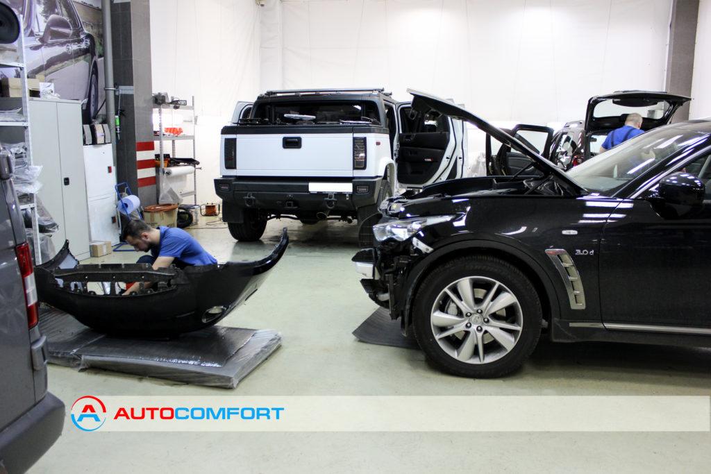 Шумоизоляция авто в студии Autocomfort