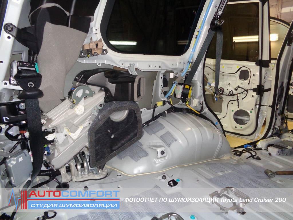 Шумоизоляция авто в заводском