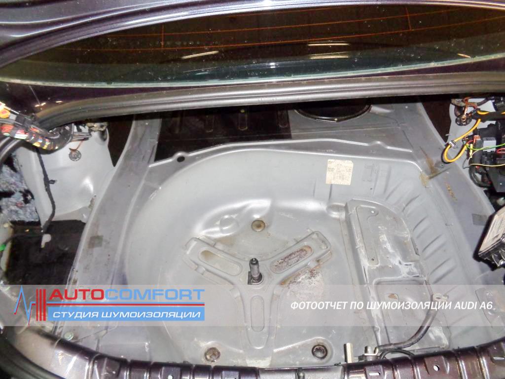 Шумоизоляция багажника AUDI A6 C6