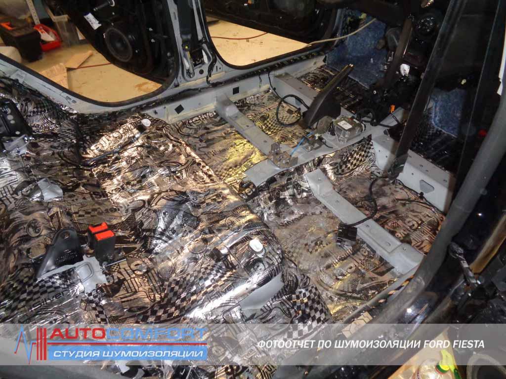 установка автозвука в ford mondeo спб
