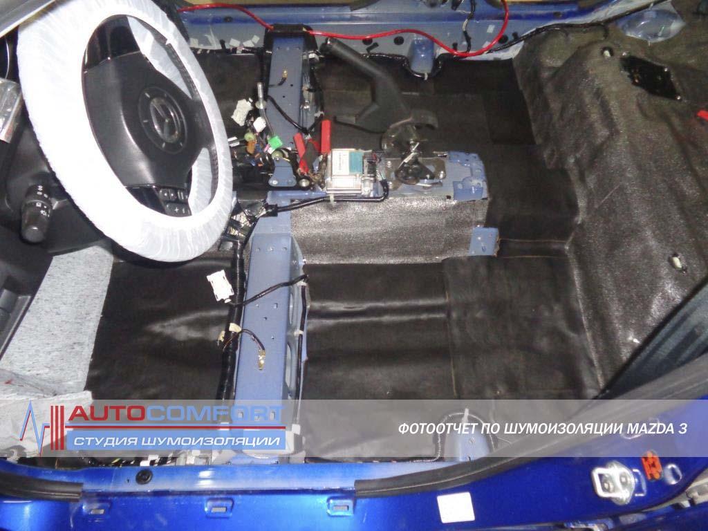 Салона 2 рестайлинг шумоизоляция форд фокус