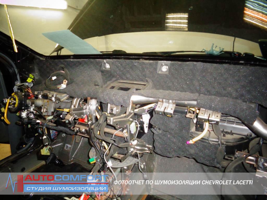 шумоизоляция автомобиля chevrolet lacetti