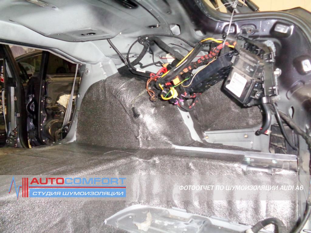 Шумоизоляция арок AUDI A6 C6 цена